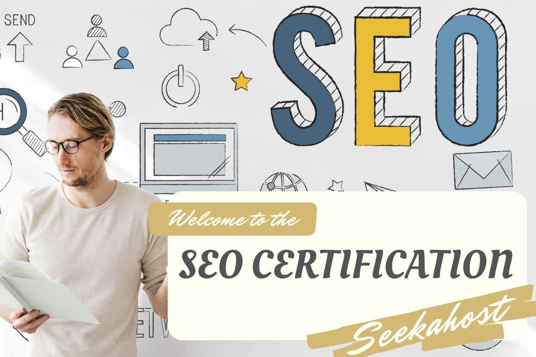 SEO Certification - seekahost university