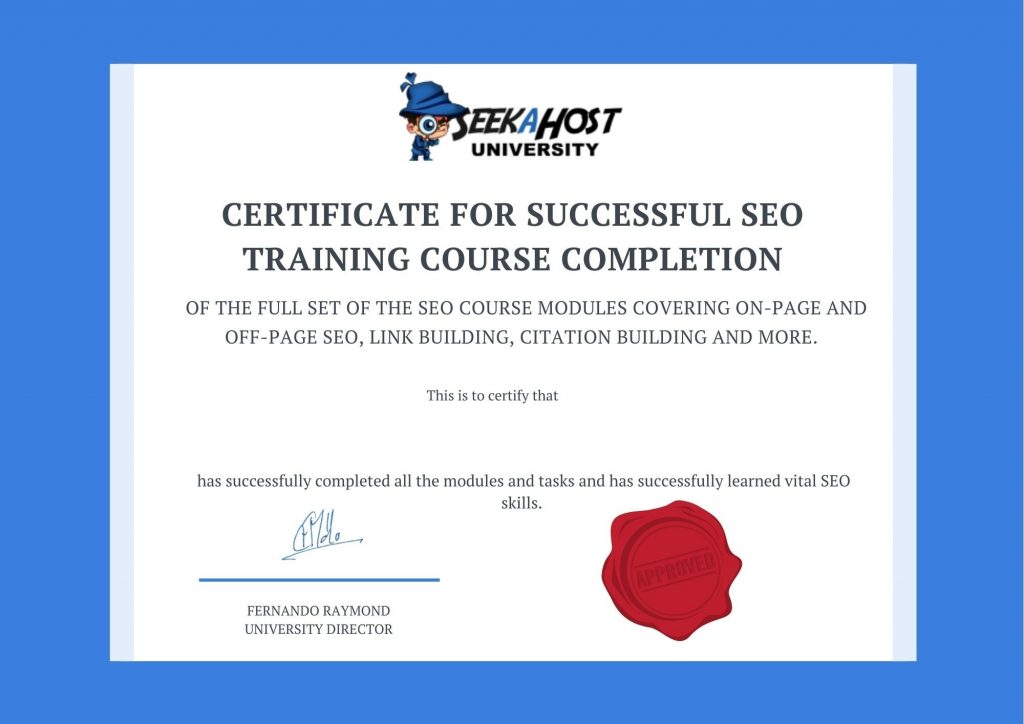 SEO-certificate-for-training-course-completion