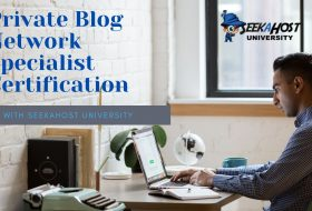 Get a Private Blog Network Specialist Certification to build monetizable Online Properties professionally
